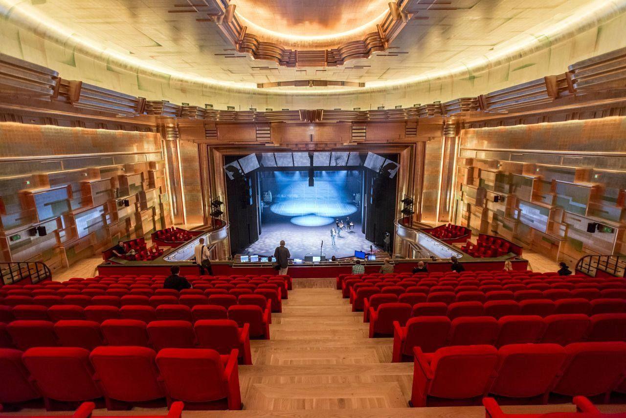 Scena I Widownia Teatru Muzycznego Capitol We Wrocławiu Concert