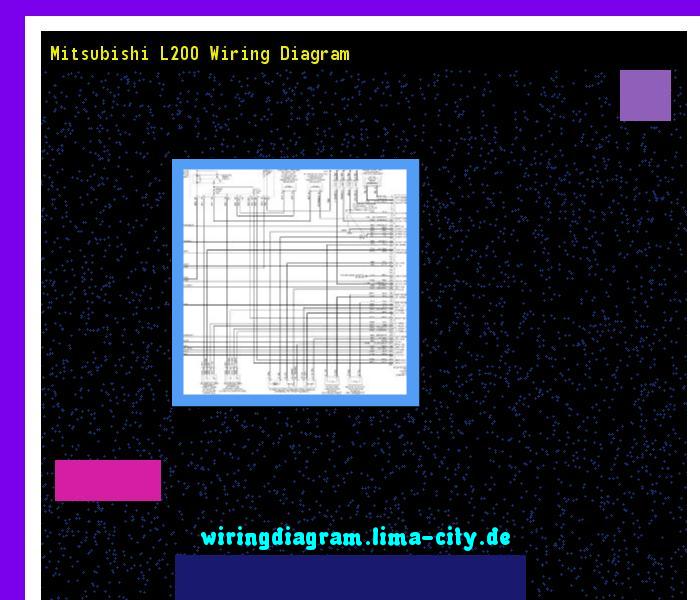 Mitsubishi l200 wiring diagram. Wiring Diagram 17563. - Amazing ...