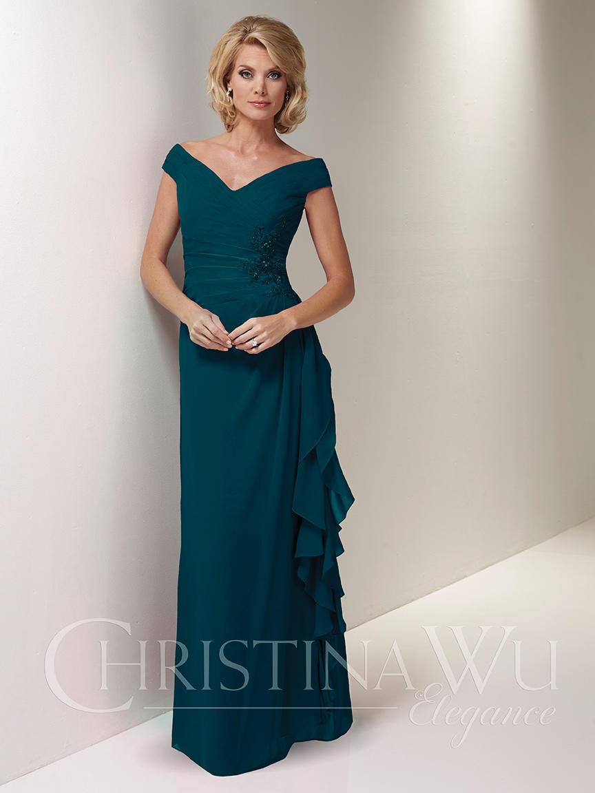 Plus size special occasion dresses Christina Wu Elegance