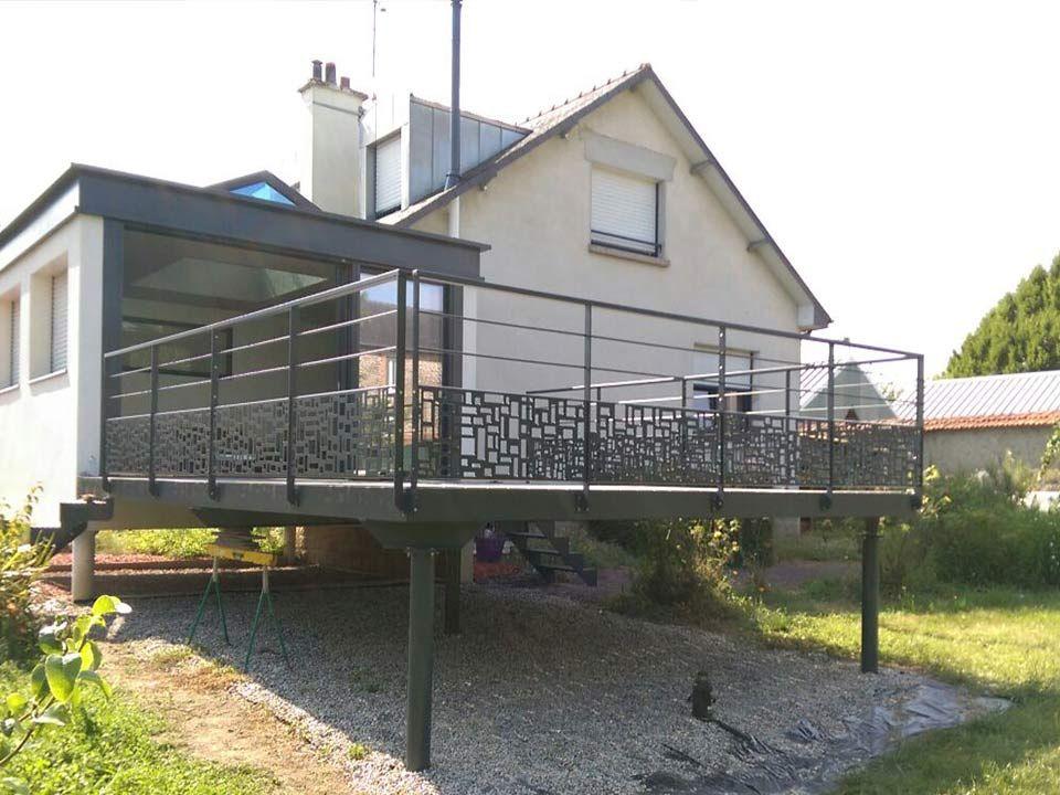 Rsultat De Recherche DImages Pour Terrasse Design Surelevee Metal