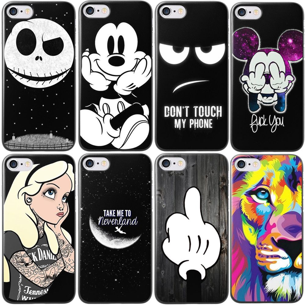 For Iphone 7 Case Cute Cartoon Pattern Cover For Apple Iphone 7 Plus Capa Phone Back Case Cover Fundas Details Can Iphone 7 Cases Apple Iphone Iphone 7 Plus