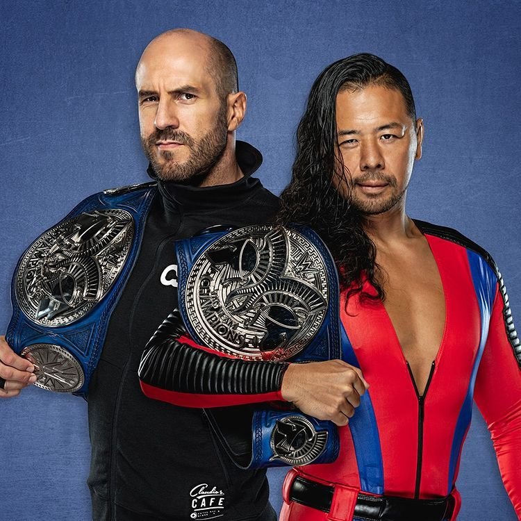 Who Were The Most Entertaining Smackdown Tag Team Champions This Year In 2021 Wwe Wwe Champions Wwe Tag Teams