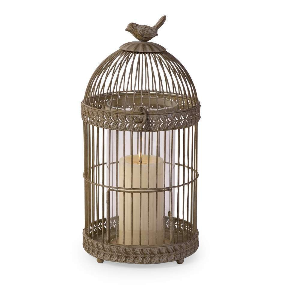 Mindy browne small birdcage pillar candleholder candle holders arnotts