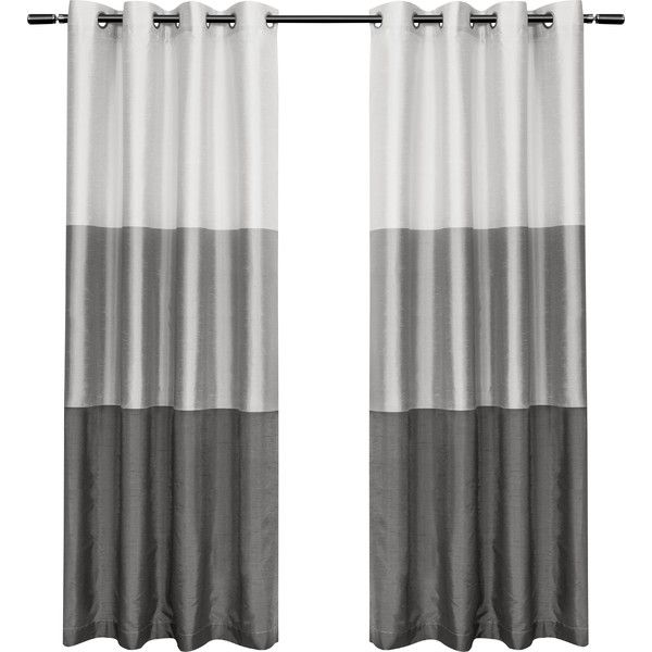 Color-Block Grommet Curtain Panel | Joss & Main