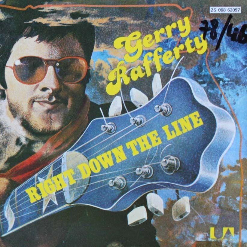 Right Down The Line By Gerry Rafferty Sp With Nyphus Gerry Rafferty Album Art Music Love