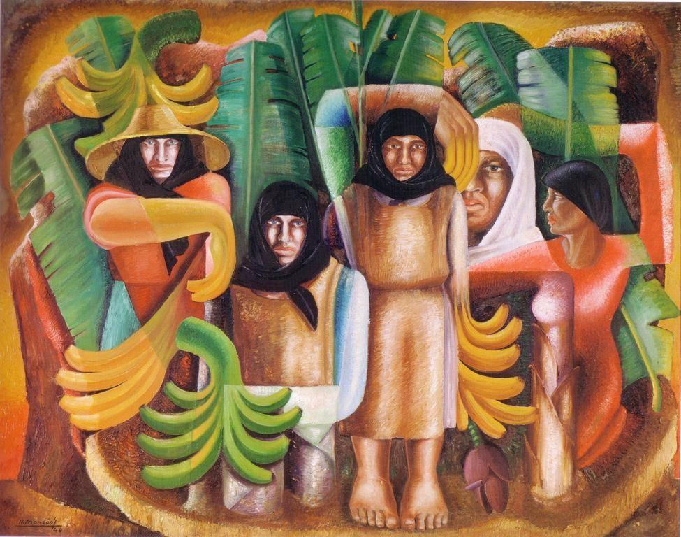 Pinturas de Santana, Monzón e Ismael muestran su visión de Canarias - http://gd.is/ETYWYt