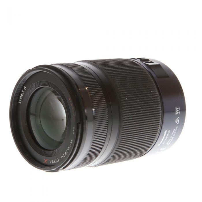 Panasonic Lumix 35 100mm F 2 8 G X Vario Asph Power O I S Af Lens For Mft Micro Four Thirds System Black 58 Used Camera Lenses Panasonic Lumix Lens