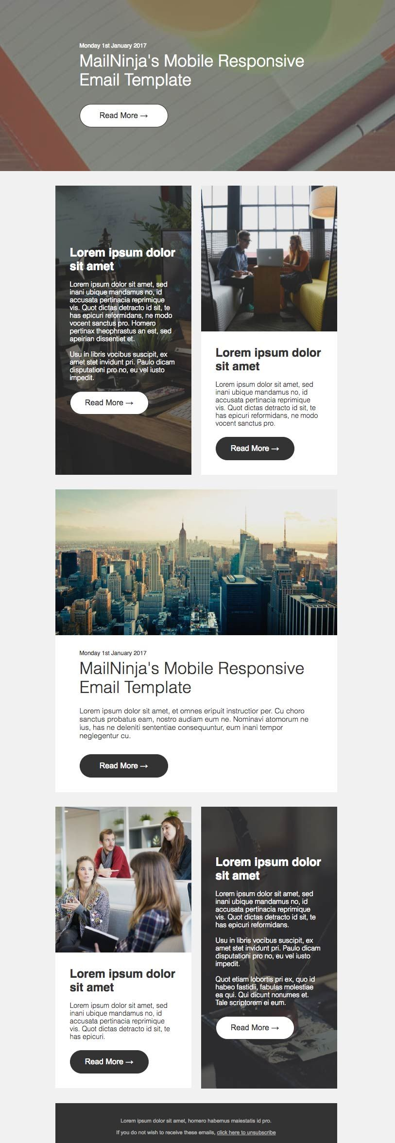Pin by MailNinja on MailNinja HTML Email Template Designs ...
