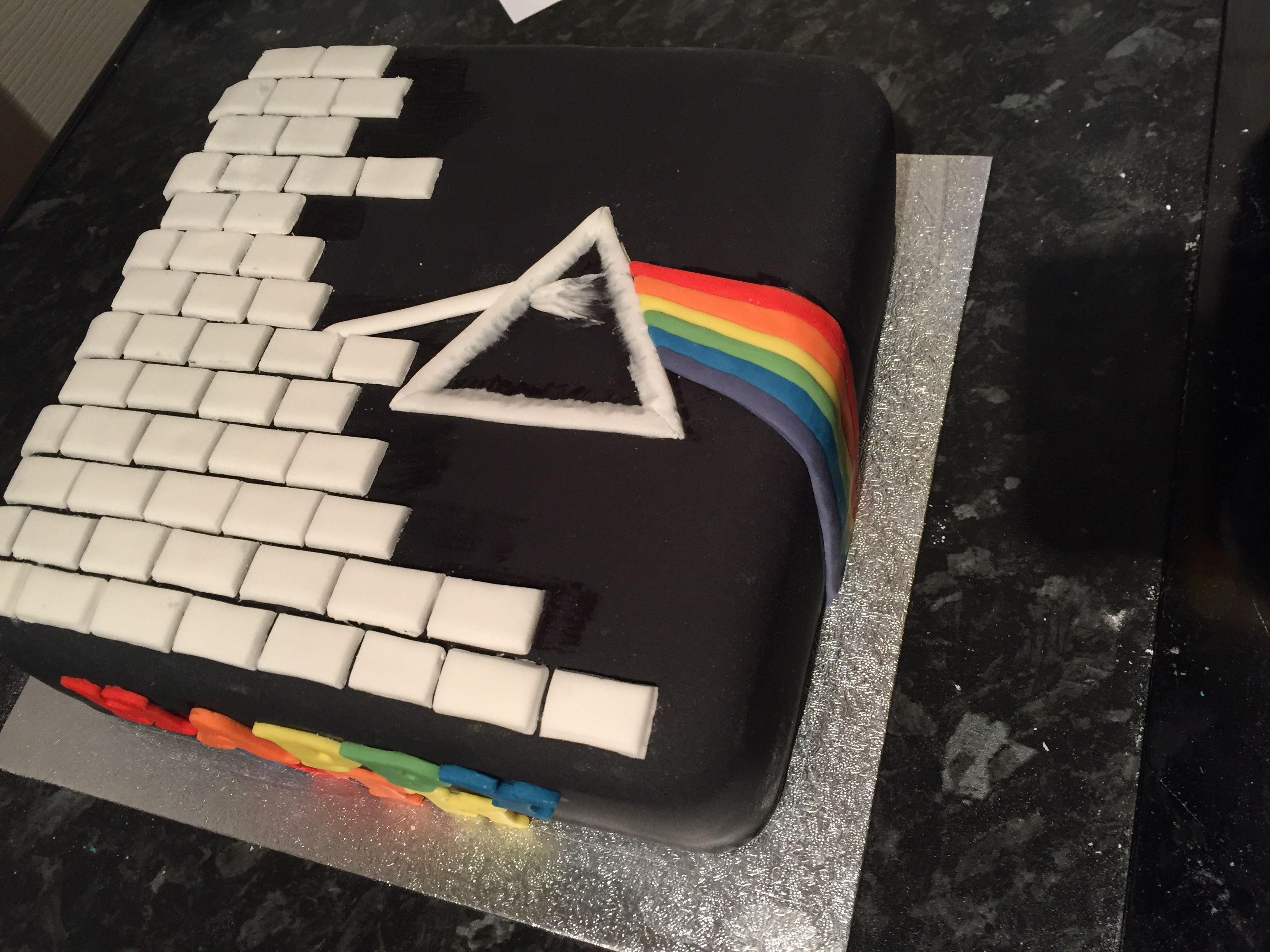 Pink Floyd Cake Cake Decorating In 2019 Music Cakes