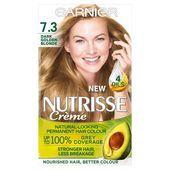Garnier Nutrisse Creme 7.3 Dark Golden Blonde Hair Dye