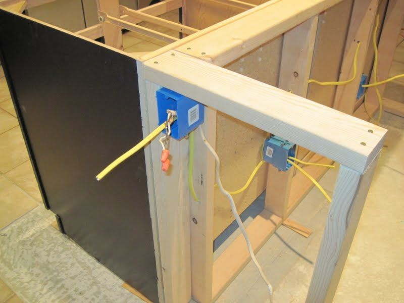 how to install an outlet in a kitchen island search