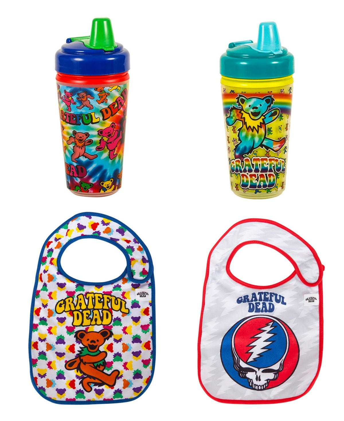 Daphyl S 2 Pack Grateful Dead Toddler Feeder Set Reviews All Baby Gear Essentials Kids Macy S In 2020 Grateful Dead Dancing Bears Baby Gear Essentials Baby Gear