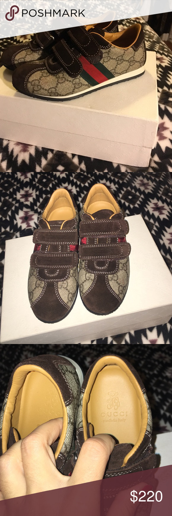 962c9d78d New Authentic Gucci kids shoes sz 29 Brand new in box. Never worn. Gucci  Shoes Sneakers
