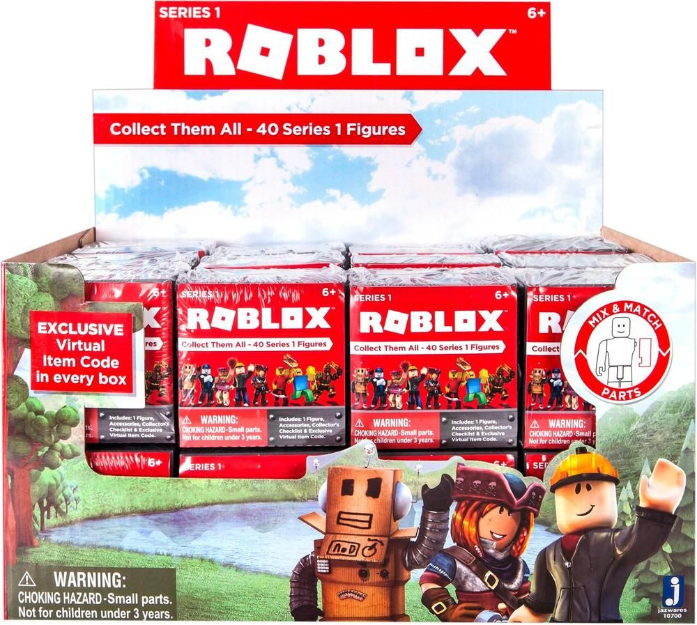 Roblox Series 2 Mystery Figure Pack Styles May Vary With