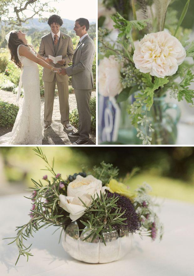 Vintage Farm Wedding Pretty With A Neutral Palette