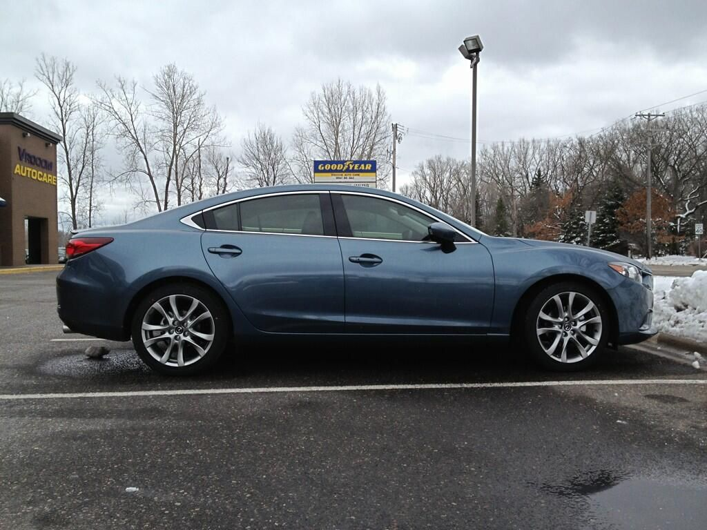 Mazda 6 with Ceramic 50 window film Automotive Window