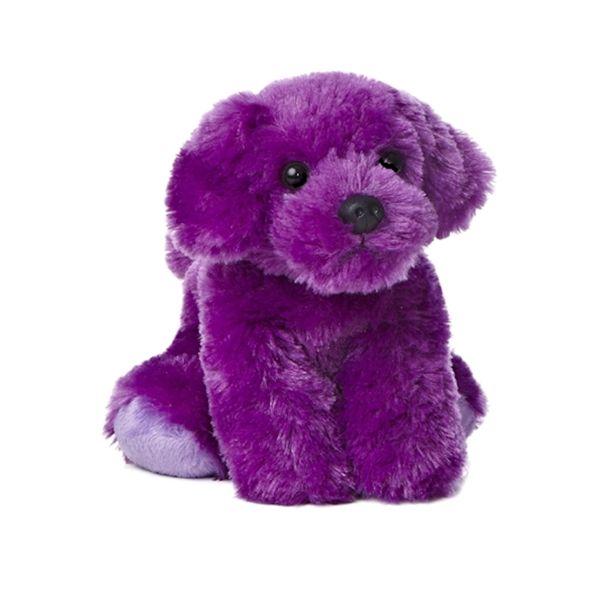 Precious Pup The Stuffed Purple Puppy Mini Flopsie By Aurora This