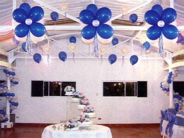 Areglos de xv anos decoracion con globos para 15 a os - Bombas para decorar ...