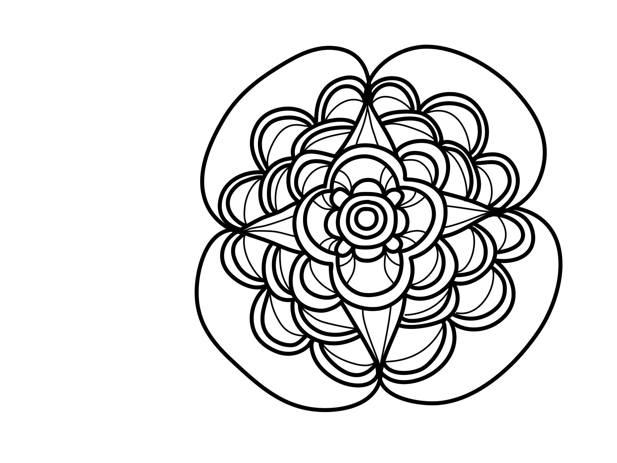 free guided journal mandala coloring book for self love