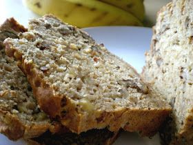 Food College, PA: Healthy banana nut bread