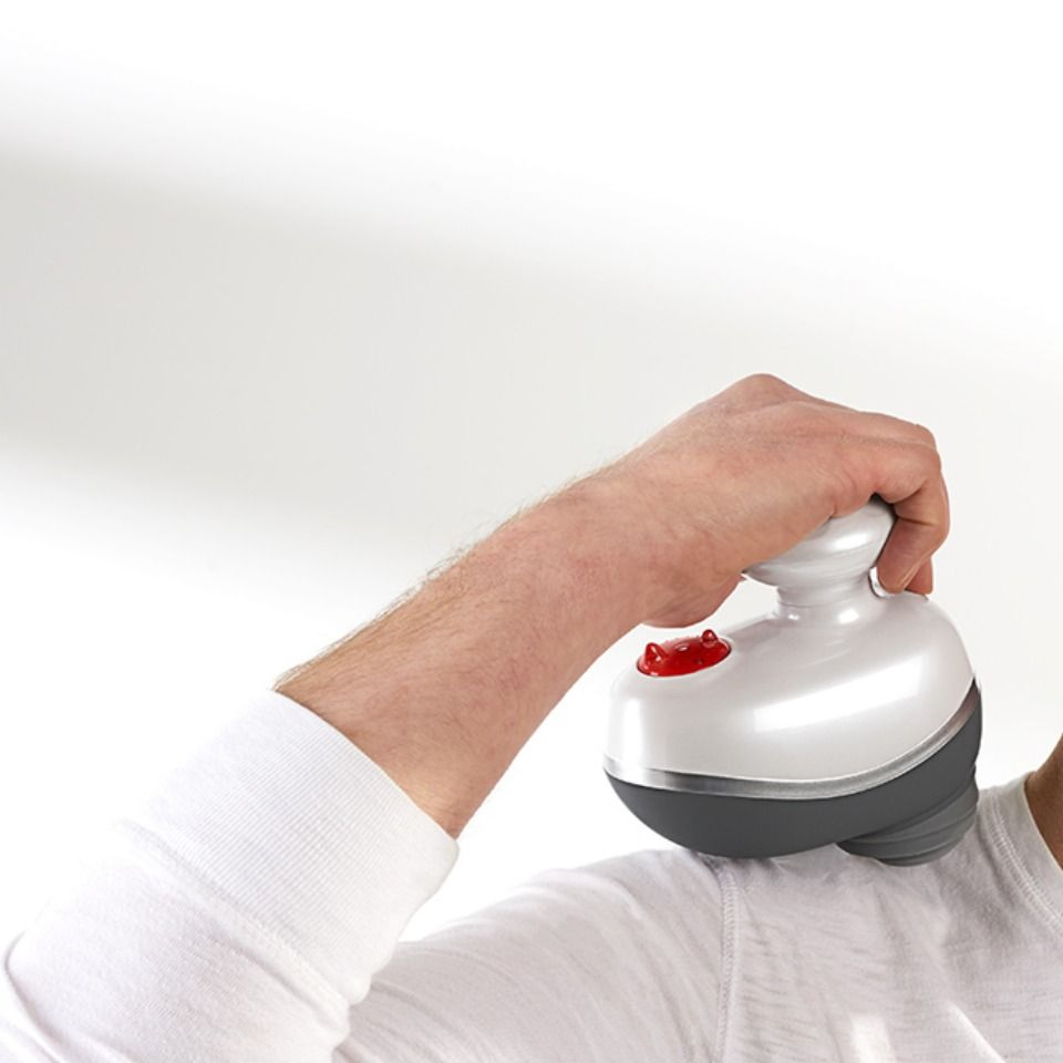 Cordless percussive therapy massager sharper image