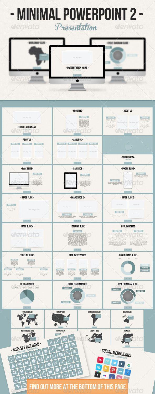 Minimal powerpoint 2 minimal presentation templates and template minimal powerpoint 2 presentation designpresentation templatespresentation slidescompany presentationipad toneelgroepblik Image collections