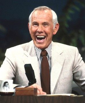 Image result for johnny carson laughing