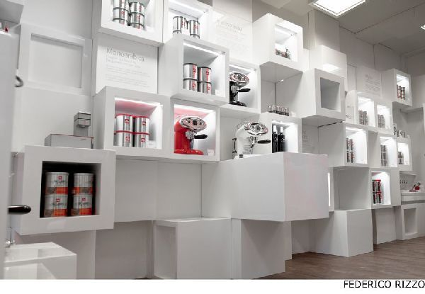Product Display At Llly Temporary Shop In Milan With 200