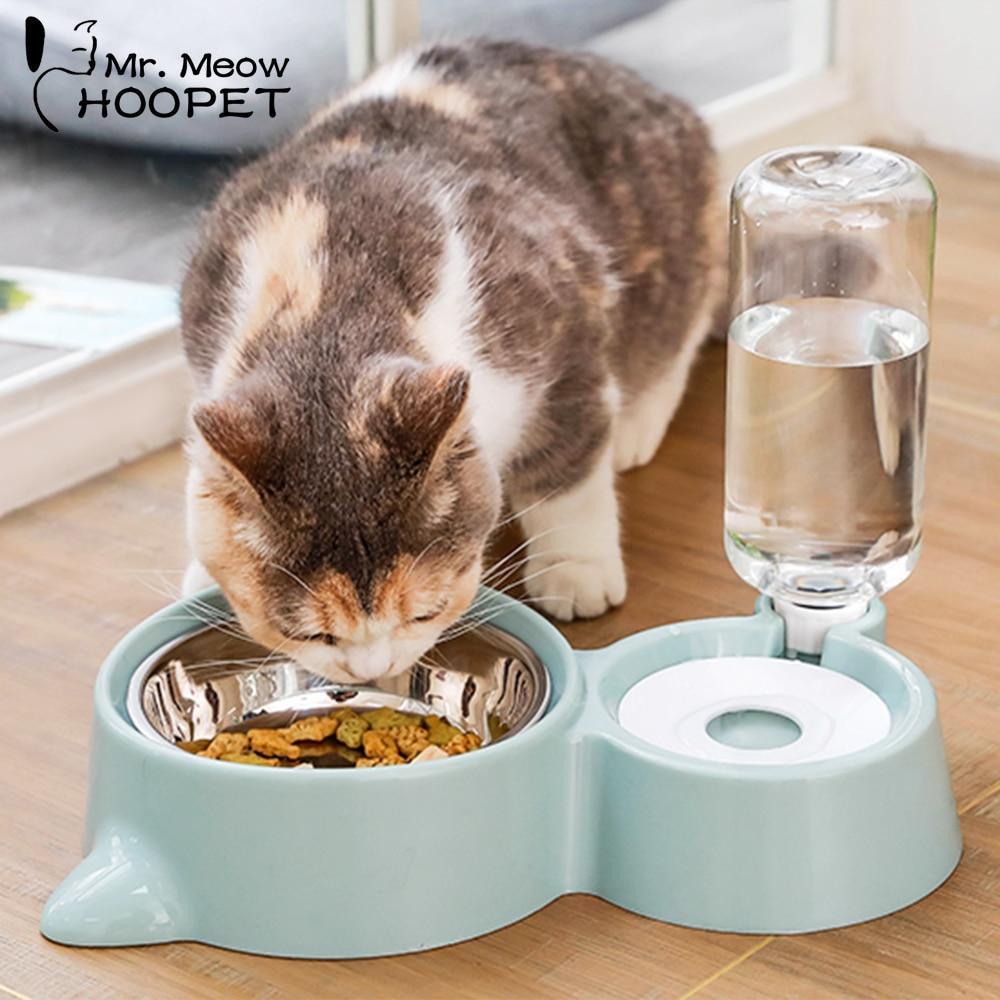 Cat Bowl Dog Water Feeder Bowl Cat Kitten Drinking Fountain Food