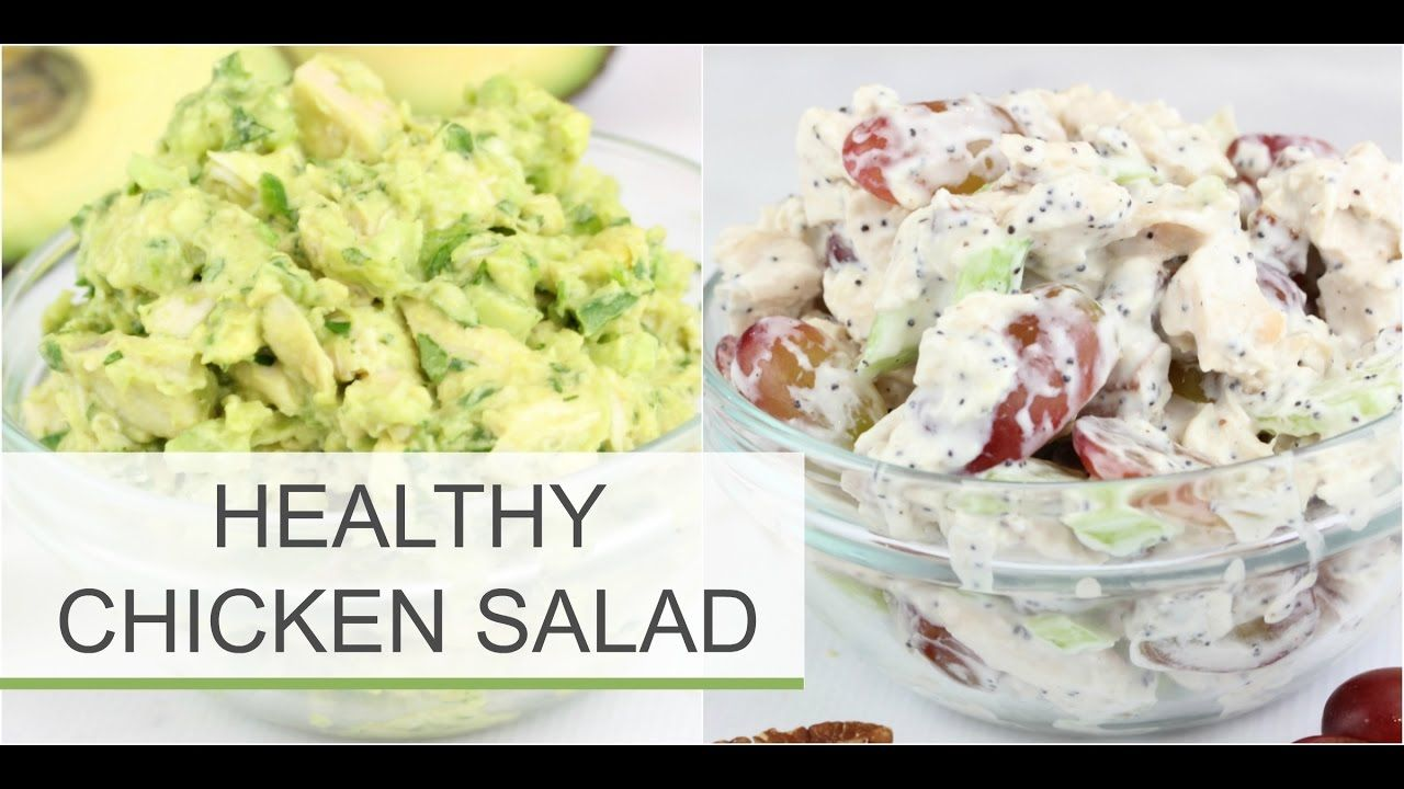 Healthy Chicken Salad Recipes | Sonoma + Avocado | RECIPES ...