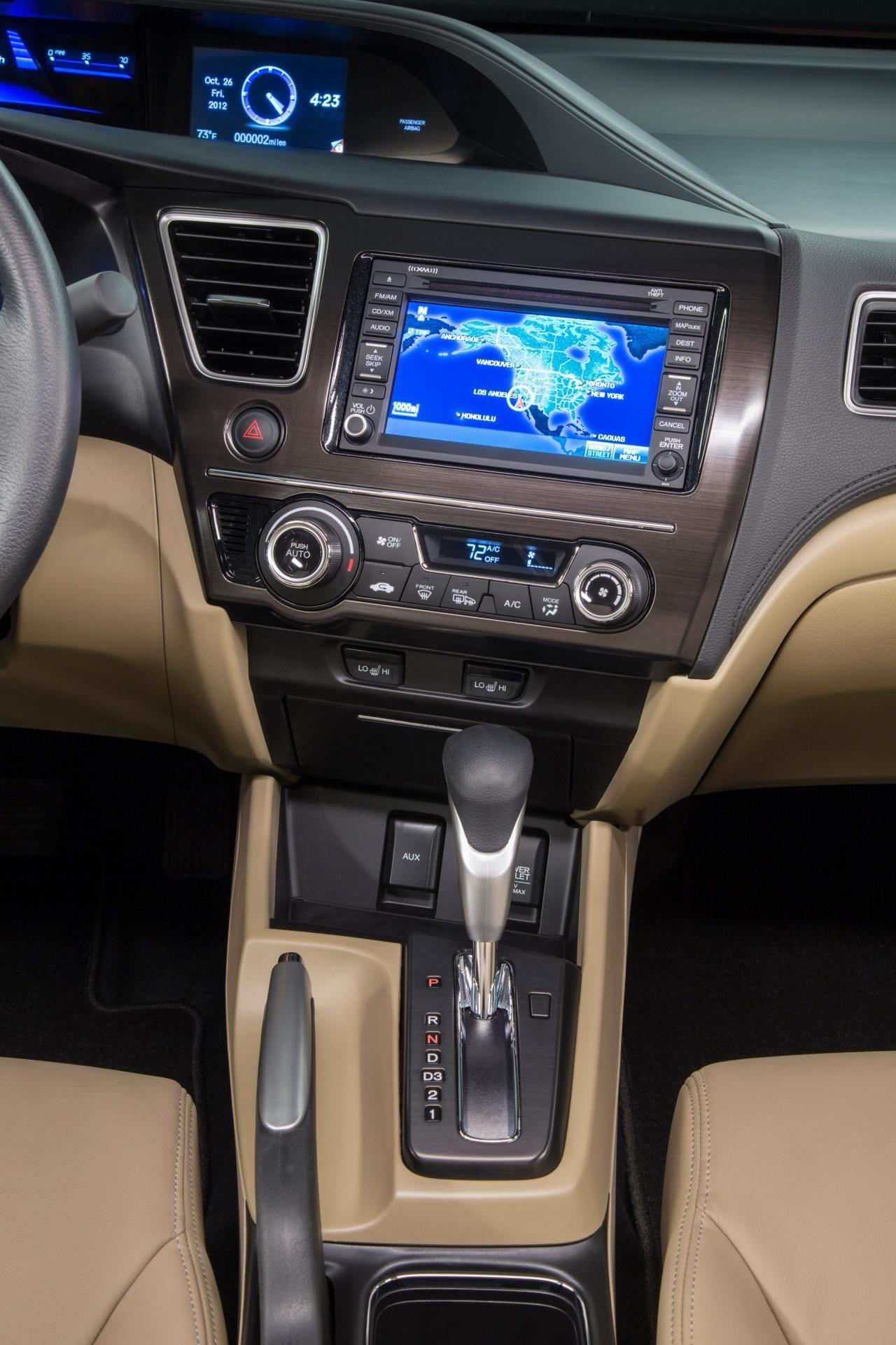 2013 Honda Civic Sedan Interior  Http://reddellhonda.com/searchnew.aspx?modelu003dCivic Sdn #Honda #HondaCivic  #HondaCars | Rice Rockets | Pinterest | 2013 ...