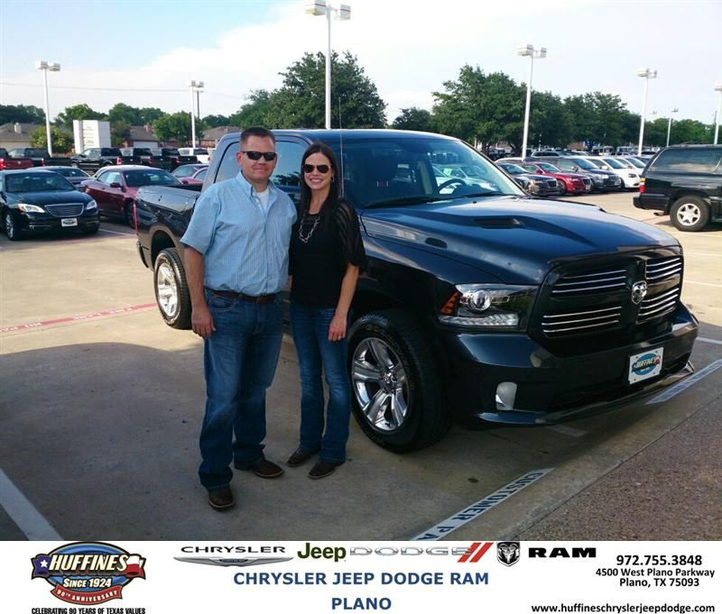 Congratulations to Les Johnson  on your #Ram #1500 purchase from Bert Cox at Huffines Chrysler Jeep Dodge RAM Plano! #NewCar
