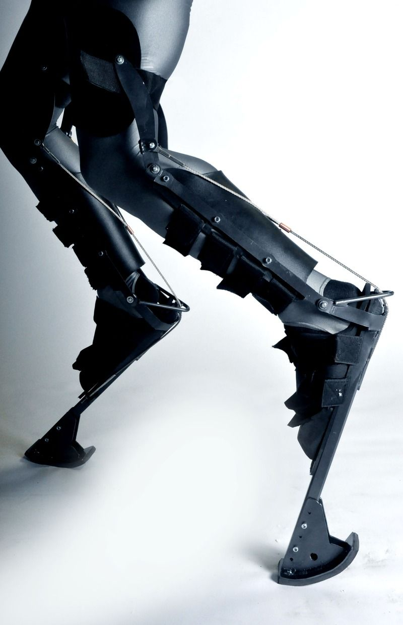reverse stilts