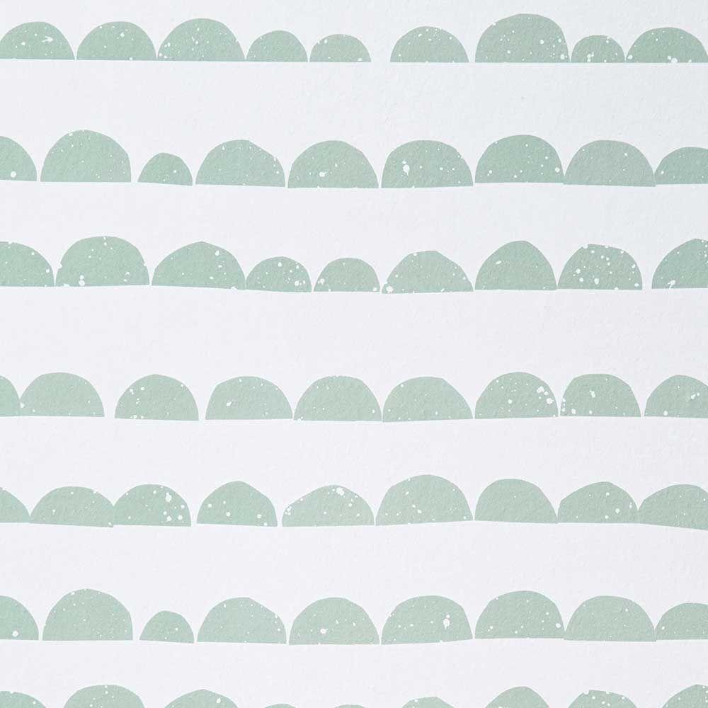 Wenn Sie Es Grafisch Und Reduziert Mögen, Ist Diese Tapete Ein Wundervoller  Blickfang Im Kinderzimmer.