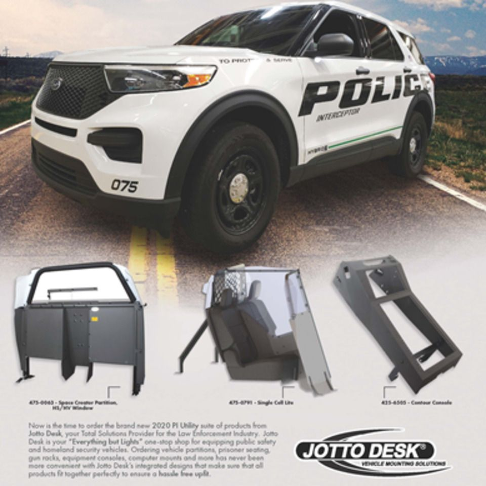 Officer 2020 Jotto Desk For Police Vehicles Now Is The Time To Order The Brand New 2020 Pi Utility Suite Of Products Fr Police Activities Police Police Cars