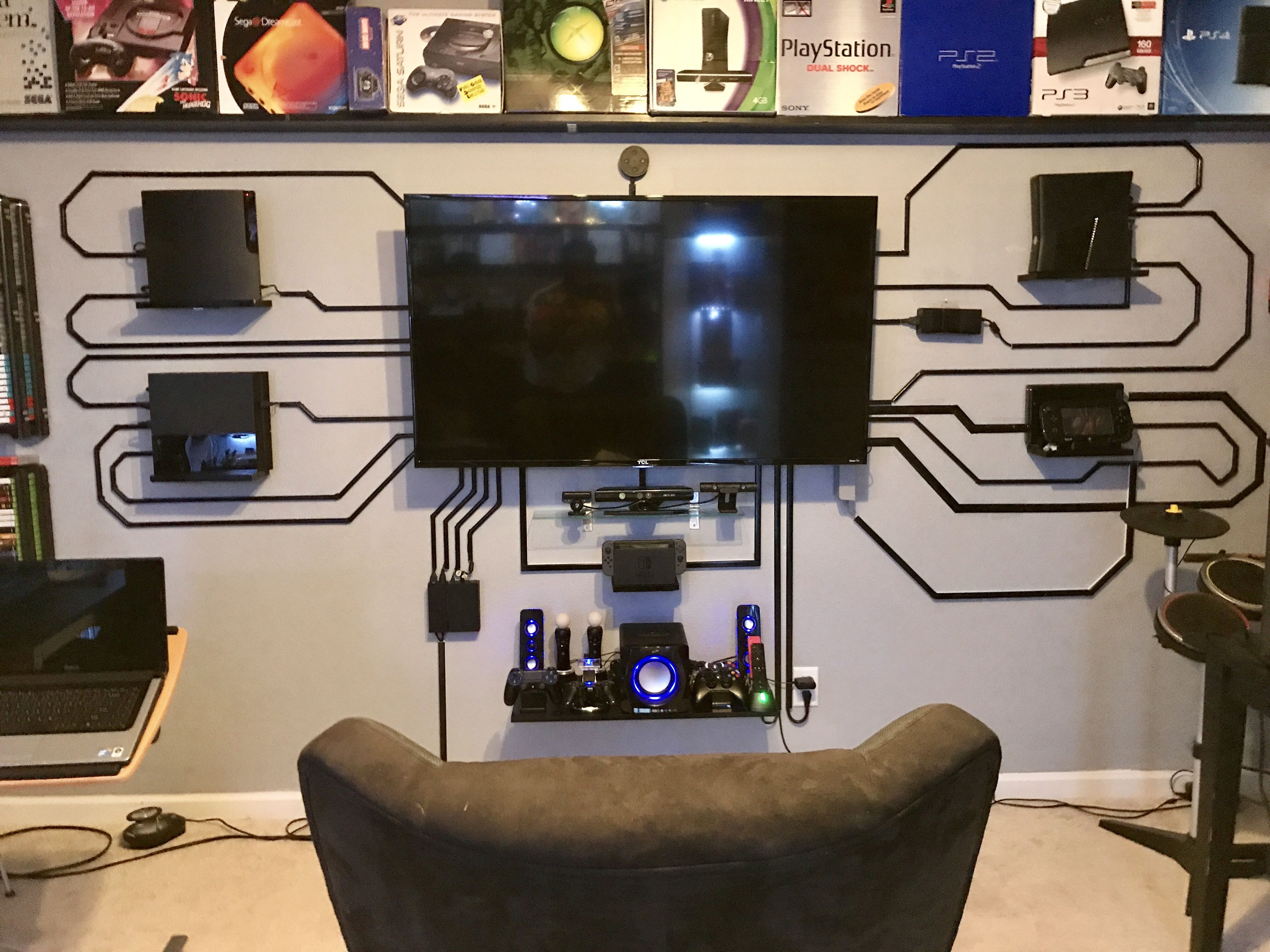 Build a room addition in any number of ways to your existing structure. Pin by Lee Stewart on Video games   Game room design ...