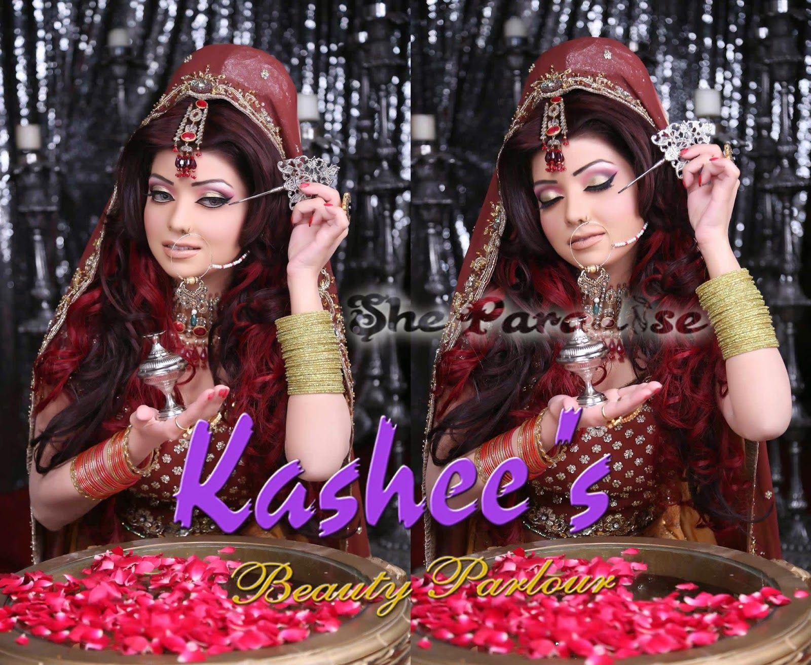 Kashee S Mehndi Makeup : Bridal makeup by kashee s beauty parlour sheparadise