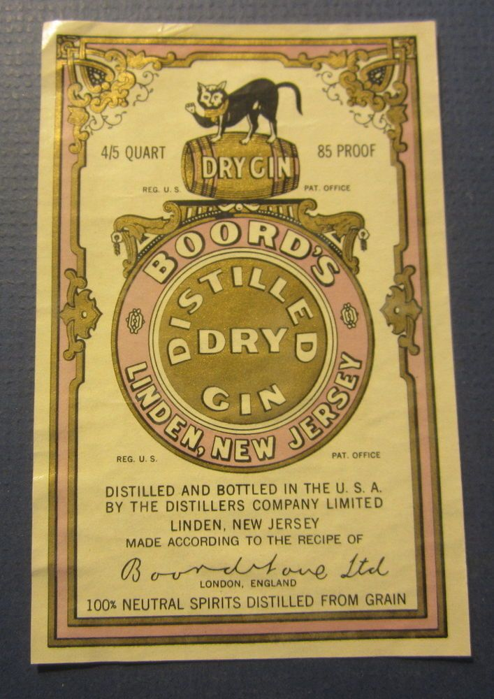 Boord's Dry Gin