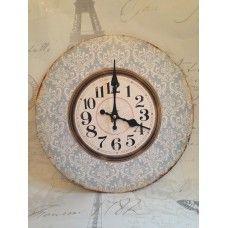 Blue vintage clock £8.95