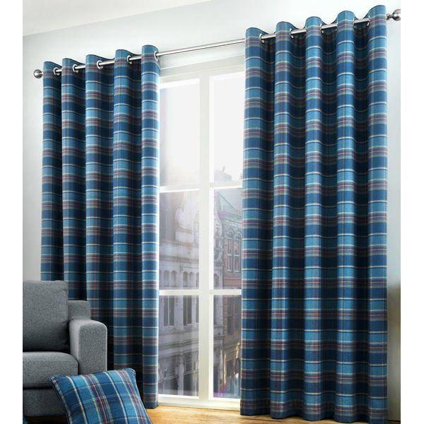 Cameron Eyelet Room Darkening Curtains