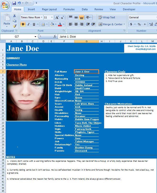 Dating profile writer tools