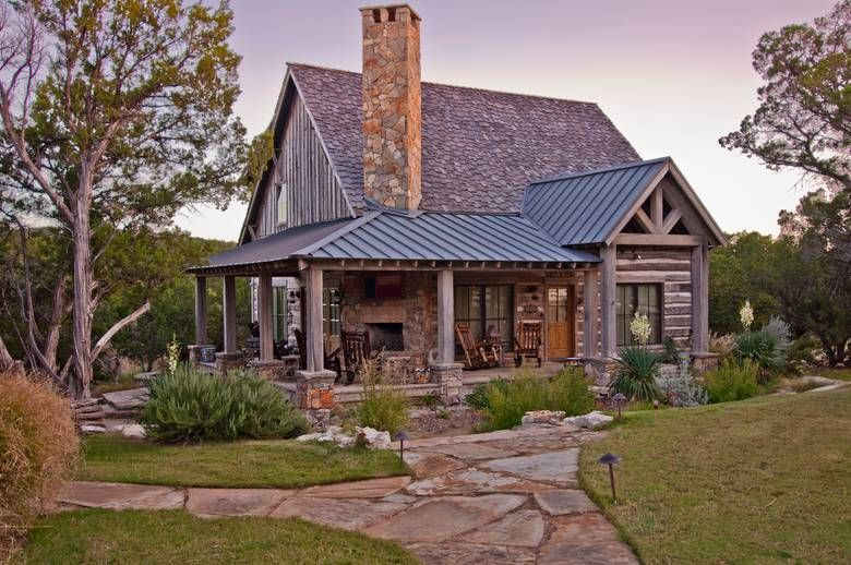 Hand Hewn Skins on Texas Cabins Rustic house plans