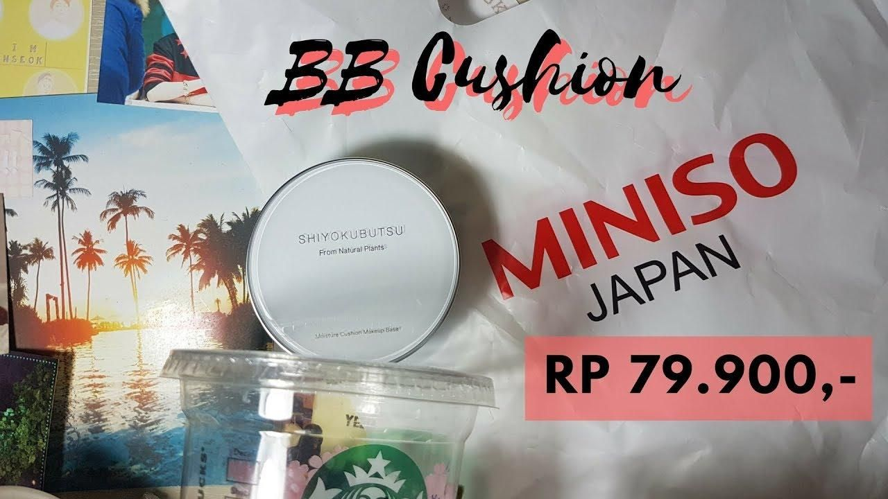 Review BB Cushion dari Miniso yang Murah Meriah Tapi