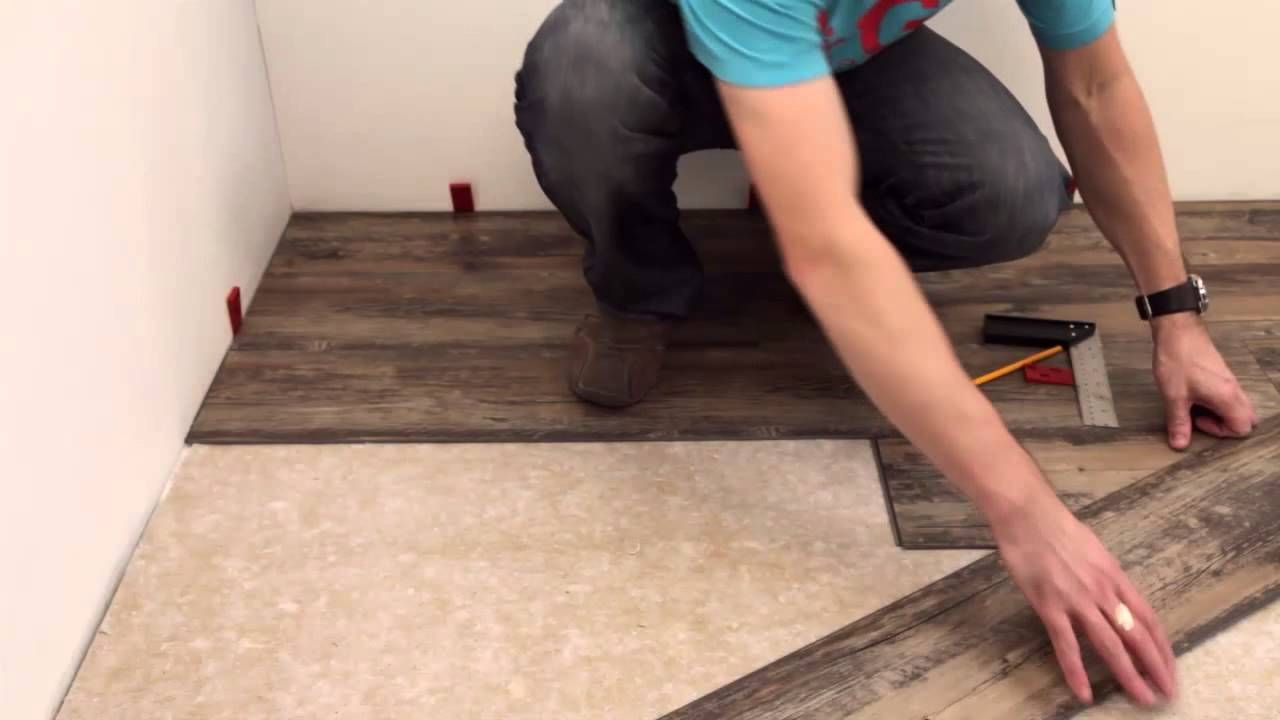 Nice LivLoc Click Vinyl Flooring Installation Video.mp4