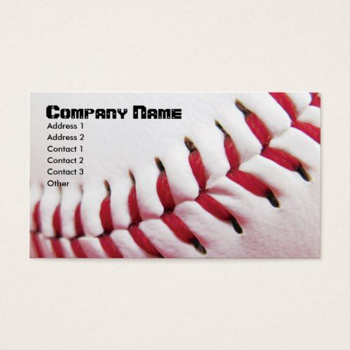 Baseball business cards business cards and business baseball business cards colourmoves