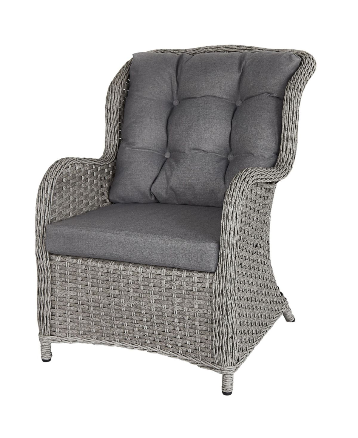 Gallerie Décor Bay Breeze Indoor/Outdoor Rattan Chair
