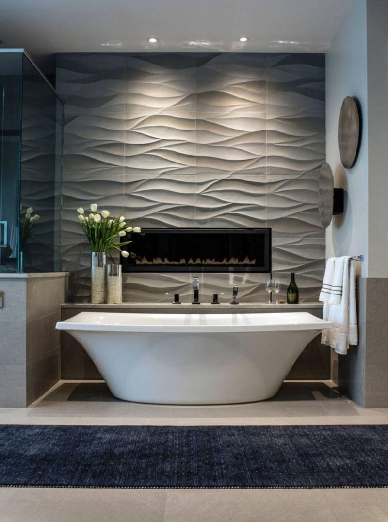 Modern Small Bathroom Tile Ideas Badezimmer Renovieren Badezimmer Gestalten Luxusbadezimmer