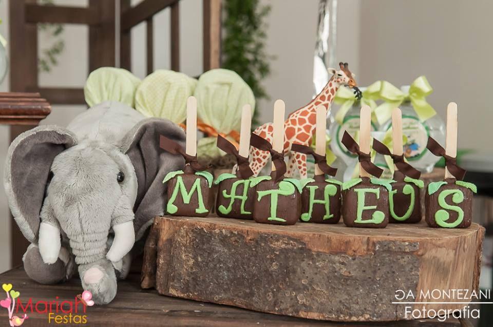 Mariah Festas: Chá de Bebê Safari