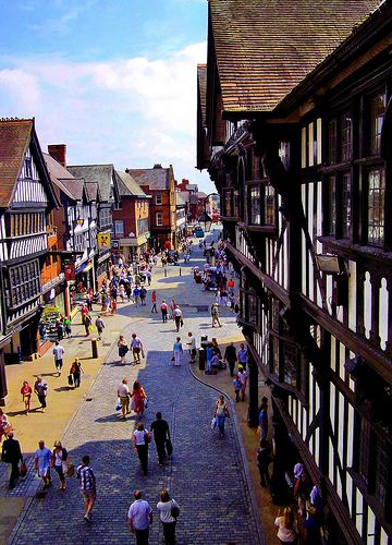 Shopping on Northgate Street, Chester