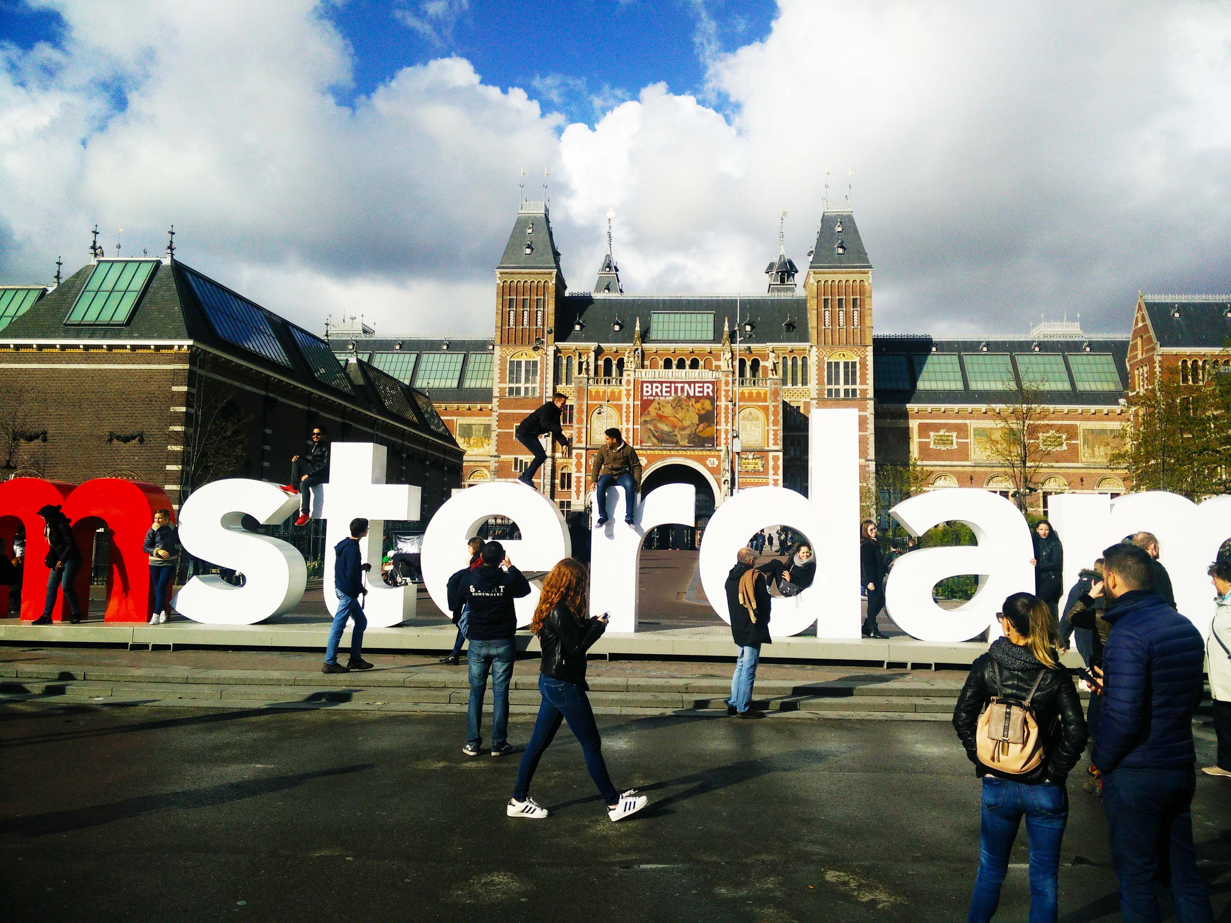 Amsterdam, vor dem Reichsmuseum